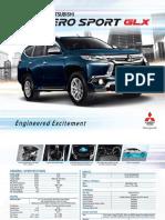 Montero Sport Glx Brochure