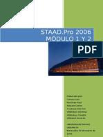 MODULO 1 Y 2 MUNIR STAAD PRO 2009