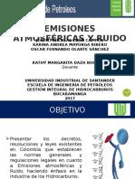 Emisiones atmosféricas y ruido (normatividad)