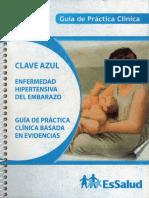 Clave Azul Preeclampsia EsSalud