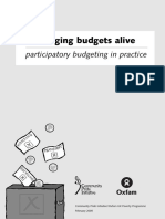 Bringing Budgets Alive