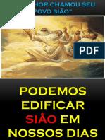 Moises 7- O Senhor Chamou Seu Povo Siao