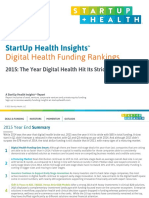 StartUp Health Insights Report 2015 Year End