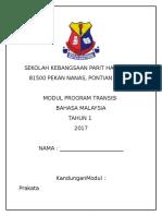 Modul Transisi Bahasa Malaysia Tahun 1