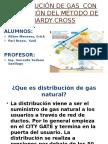 Distribución de Gas Con Aplicación Del Método De