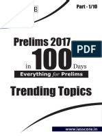 Trending Topics - Part 1 of 10 - Prelims in 100 Days - GS Score.pdf