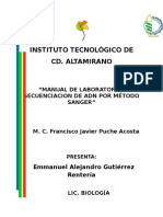 Manual de Laboratorio Sanger