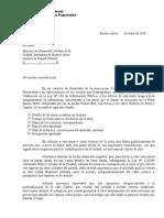 2010 Nota Ministro Desarrollo Urbano Plaza E. Mitre[1]