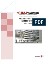 Plan Estrategico 2016-2021