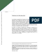 DG-NT-127 Sistemas de Alta Dirección
