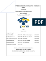 Laporan Proyek Sistem Manufaktur Terpadu - Hidayah Cahya