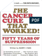 CANCER - The Cancer Cure That Worked - 50 Years of Suppression By Barry Lines [14 Pages of Extracts of Book Only] - PDF.pdf