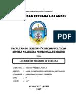 Tarea Nº 02 _ Los Medios Técnicos de Defensa