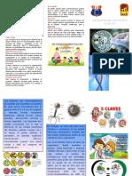 TRIPTICO Bacterias Virus