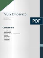 IVU y Embarazo - Daniel Cardozo