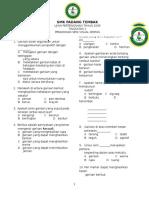 Soalan Psv Tingkatan 1 2009