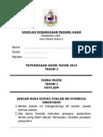 Soalan Muzik T2 PKSR 2 2014