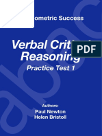 critical reasoning practice test pdf