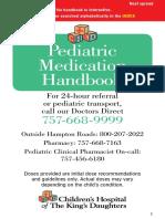 Ped Med Handbook