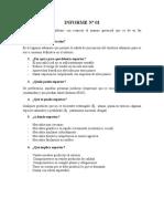 Informe Nº 01 - Reingenieria