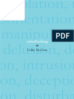 Colin McGinn Mindfucking a Critique of Mental Manipulation 2008