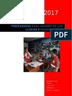 Plan de Contigencia Lluvias e Inundaciones Quwisa 2017