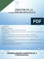 Valoración de la función neurológica.pptx