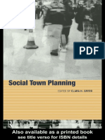 Clara Greed-Social Town Planning_ Planning and Social Policy (1999).pdf