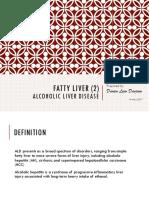 Fatty Liver (2) - Alcoholic Liver Disease