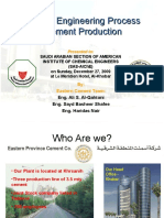 Chemical Engineering Process in Cement Production.ppt