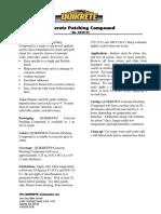 Data Sheet Concretepatchingcompound