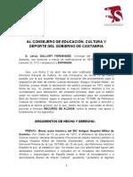 Santoñeses presenta recurso de alzada contra la decisión de cultura de no actualizar la declaracion BIC de Chiloeches