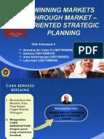 Winning Markets Through Market – Oriented Strategic Planning