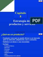 8 Estrategia de Producto o Servicio