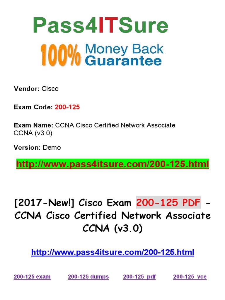 New pass4itsure cisco 200 125 dumps pdf ccna cisco certified new pass4itsure cisco 200 125 dumps pdf ccna cisco certified network associate ccna v30 router computing network packet xflitez Gallery