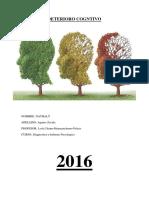 Deterioro Cognitivo. PDF. Nathaly Aquino Zavala