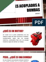 Motores Acoplados a Bombas