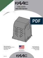 Faac Dsl2000 Manual