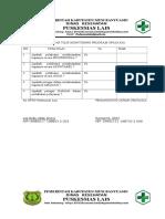 5.7.2.3 Monitoring Dan Evaluasi Terhadap Pelaksana Aturan