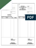 Surat Pesanan Siap Print F4