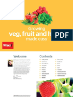 Grow Your Own Veg Fruit and Herbs Made Easy Online