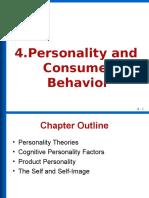 Personality and Consumer Behavior 12-4-2017(1)