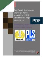 Proposal Kunjungan Lapangan PLS UNESA Angkatan 2011