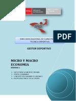 Micro y Macro Economia - Semana 1