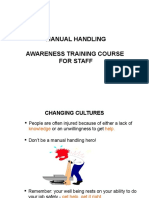 Manual handling.pps