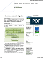 Biogas and Anaerobic Digestion