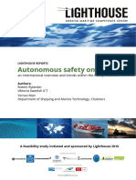 Autonomous Safety on Vessels - Webb