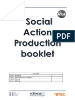 social action pre-production
