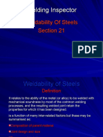 21 Weldability of Steels