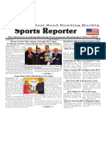May 17 - 23, 2017  Sports Reporter